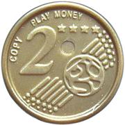 2 Euro Cent – Play Money – revers