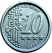 10 Euro Cent – Play Money – revers