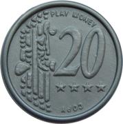 20 Euro Cent – Play Money – avers
