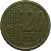 20 Euro Cent (Play Money) – avers