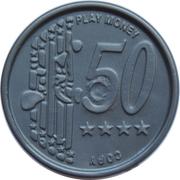 50 Euro Cent – Play Money – avers