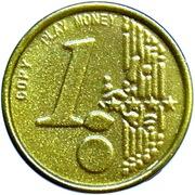 1 Euro (Play Money) – avers