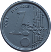 1 Euro (Play Money) – revers