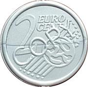 2 Euro Cent (Play Money) – avers