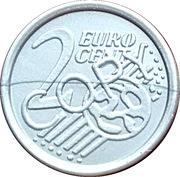 2 Euro Cent (Play Money) – revers