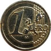 1 Euro - Virgen del Rocio – revers
