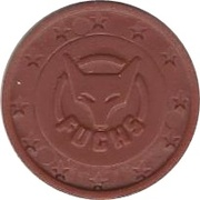 1 Cent (Fuchs) – avers