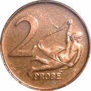 2 Cent (Euro Probe Essai Pattern - Euro Enlargement) – revers