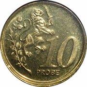 10 Cent (Euro Probe Essai Pattern - Euro Enlargement) – revers