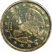 50 Cent (Euro Probe Essai Pattern - Euro Enlargement) – avers