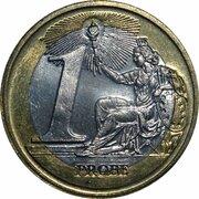 1 Euro (Euro Probe Essai Pattern - Euro Enlargement) – revers