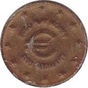1 Euro Cent (Sisu Germany) – avers