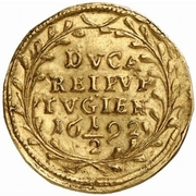 ½ Ducat (Trade Coinage) – revers