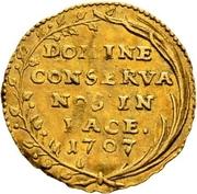 ¼ ducat -  avers