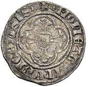 Plappart (Small shield on cross) – avers