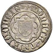 Krähenplappart (Small shield on cross) – avers