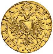 1 Goldkrone (Small shield) – avers