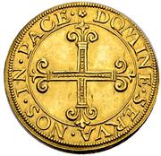 1 Goldkrone (Large shield) – revers