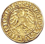 Goldgulden (Large shield) – avers