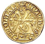 Goldgulden (Large shield) – revers