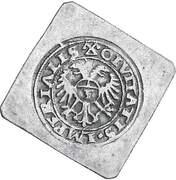 Groschen (Klippe; 3 groschen weight) – revers