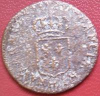 Lettre d'atelier d'un liard de Louis XV au buste enfantin 509a4ae3aa91d