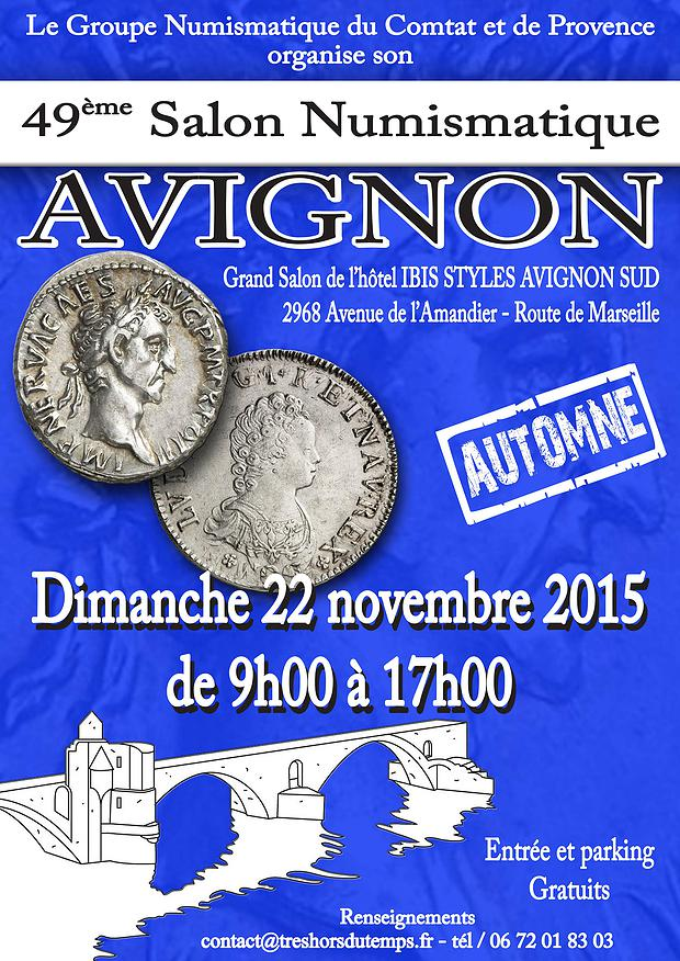 49 me salon numismatique avignon numista - Grand hotel de la poste salon de provence ...