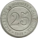 Photo 1 d'une vente de 25 centimes (Le Nickel)