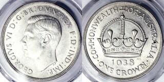 Photo 1 d'une vente de 1 crown - George VI (Couronnement)