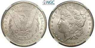 """Photo 1 d'une vente de 1 dollar """"Morgan Dollar"""""""