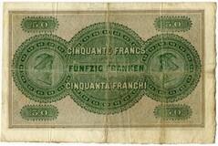 Photo 1 d'une vente de 50 francs (Aargauische Bank)